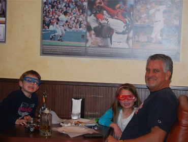 Family enjoying their stay at our Huntington Beach restaurant