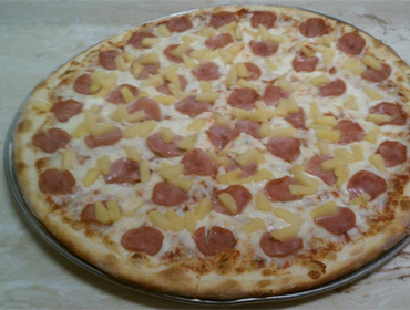 Our large Hawaiian Pie pizza