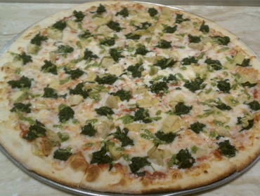 Our large Arnold's Special Pie pizza