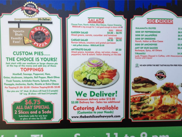 additional menus at our Huntington Beach restaurant