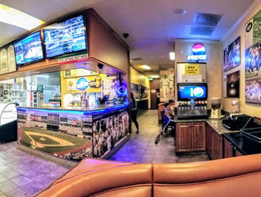 Inside view of our Huntington Beach restaurant