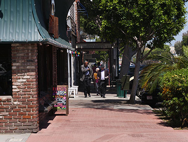 Our Seal Beach restaurant is located accross the street from the famous Walt's Wharf seafood and wine restaurant