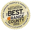 The Best Slice of NewYork - Orange County Award 2013